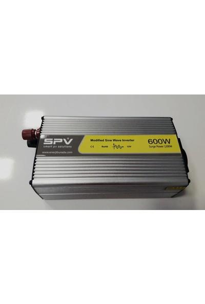 Spv 600 Watt 12V Modifiye Sinüs Inverter