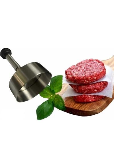 Gogıl Köfte Kalıpları Hamburger Presi - 14 cm Çelik Köfte Kalıbı Hamburger Presi