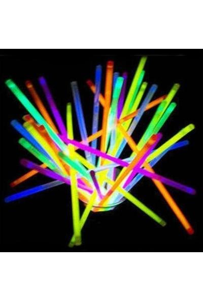 Araget Karışık Renklerde Işıklı Çubuk 10 Adet.