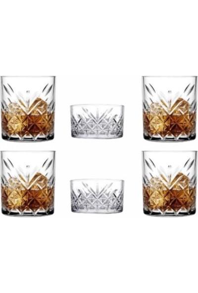 Paşabahçe Timeless 6 Parça 4 Kişilik Viski Bardağı Seti