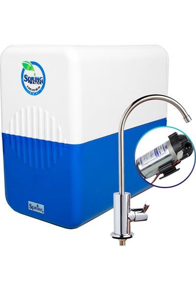 Spring Water 9 Aşamalı Pompalı Motorlu Su Arıtma Cihazı