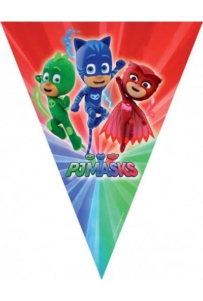 Nuvo Toys Pjmasks Pijamaskeliler 16 Kişilik 89 Parça Doğum Günü Parti Seti