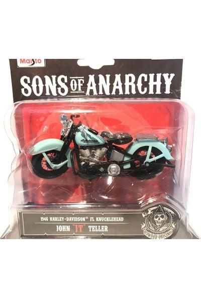 Maisto Harley - Davidson Sons Of Anarchy 1/18 Motosiklet