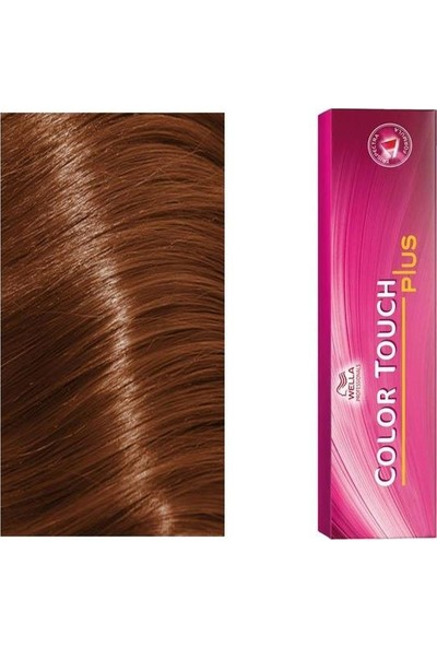 Wella Color Touch Plus Boya 60 ml 77.03 Yoğun Orta Kumral