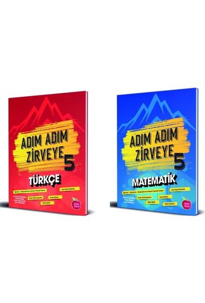 Newton 5. Sınıf Adım Adım Zirveye Matematik-Türkçe Soru Bankası Set