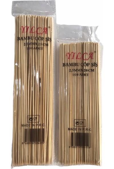 Yılca Bambu Çöp Şiş 200'lü