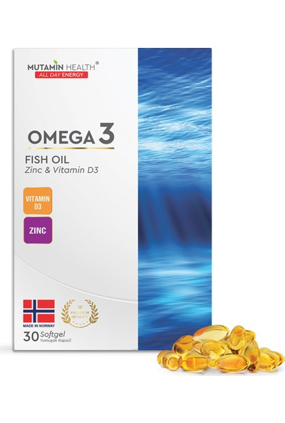 Mutamin Health Balık Yağı 1000 mg x 30 Kapsül