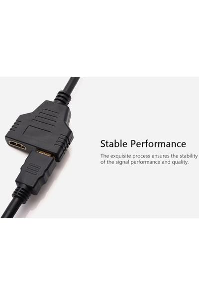 Daytona HDMI Anahtarı Male 2 Bağlantılı 4K HDMI Female Çoklayıcı 2x1 Anahtar Bölücü Full Hd 4K 1080P 3D Çevirici
