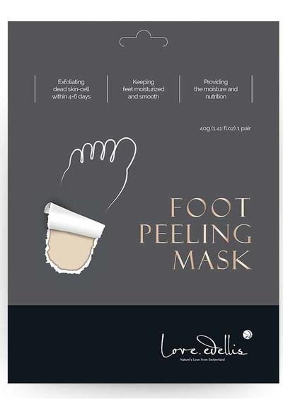 Edellis Foot Peeling Mask -Soyulan Ayak Peeling Maskesi