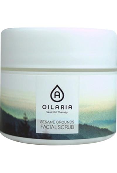 Oilaria Sesame Grounds Facial Scrub - Yüz Peelingi
