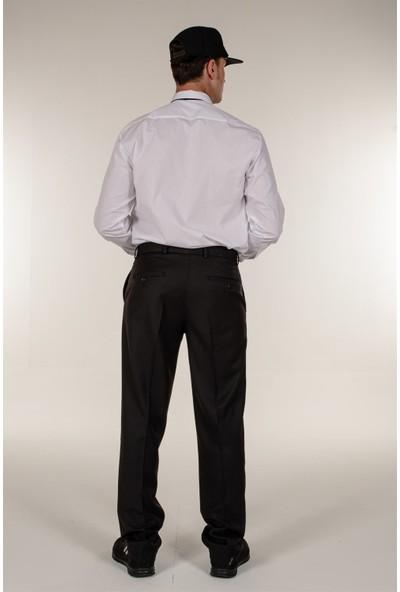 Mert Giyim Beyaz Güvenlik Gömlek Uzun Kollu