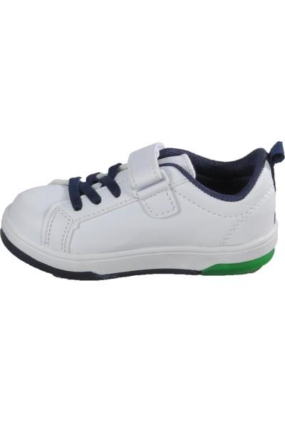 Cool 20 - S21 Beyaz - Yeşil Bebek Spor Ayakkabı