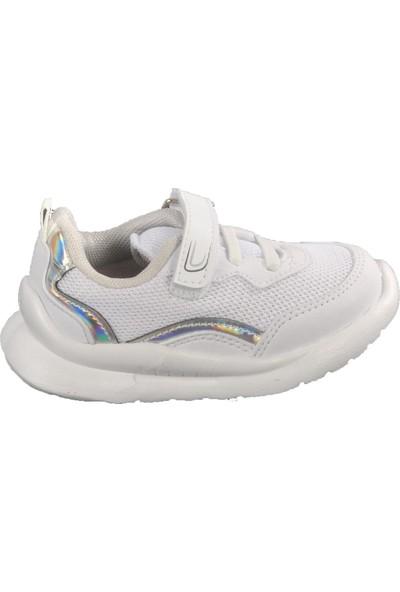 Cool 20 - S29 Beyaz - Platin Bebek Spor Ayakkabı