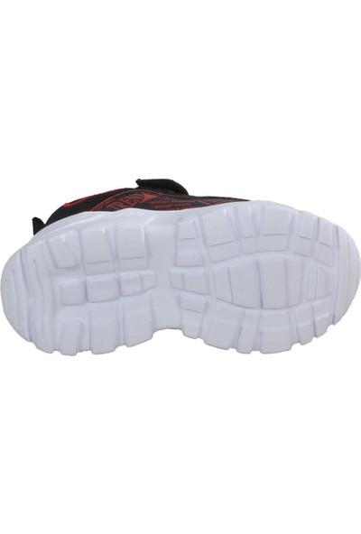 Cosby 306 Siyah - Kırmızı Çocuk Spor Ayakkabı