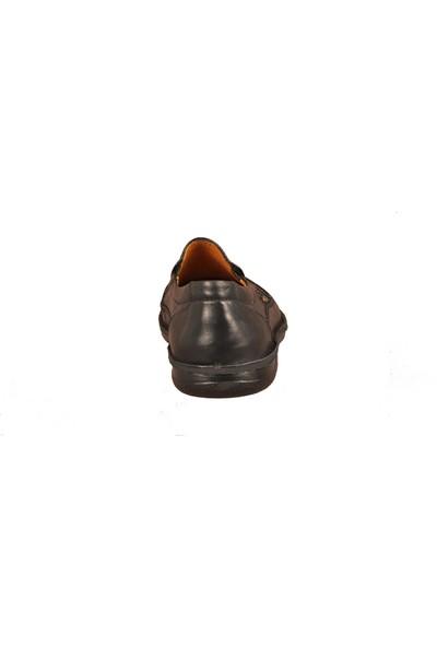 Dr.Flexer 816612 Siyah Erkek Günlük Hakiki Deri Ayakkabı