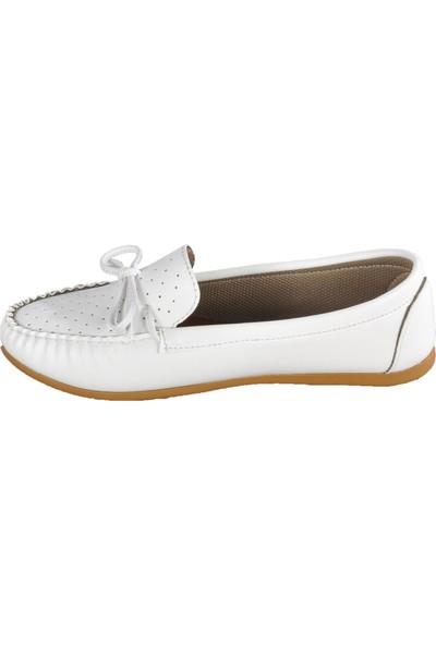 Esila 066 Beyaz Kadın Babet