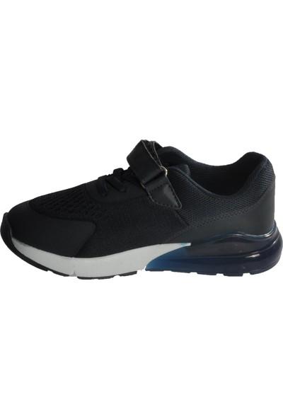 Kinetix Fuzzy Lacivert - Siyah Çocuk Spor Ayakkabı