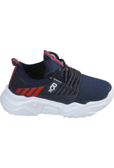 Lafonten 670 Lacivert - Kırmızı Çocuk Spor Ayakkabı