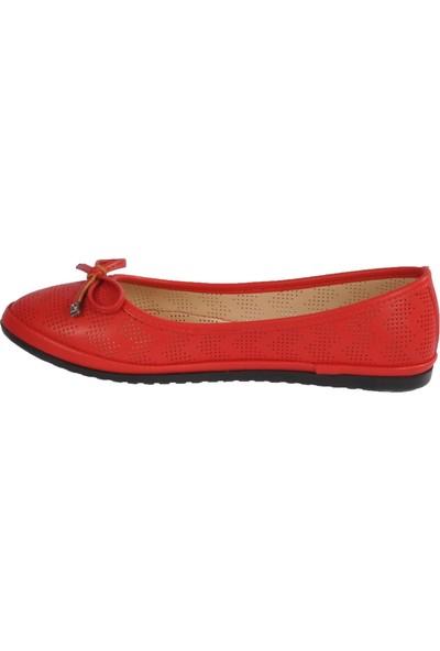 Park Fancy 155537 Kırmızı Kadın Günlük Ayakkabı