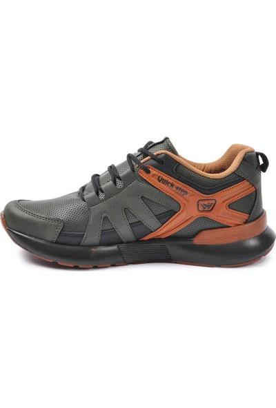 Wanderfull 4022 Haki - Siyah Erkek Spor Ayakkabı