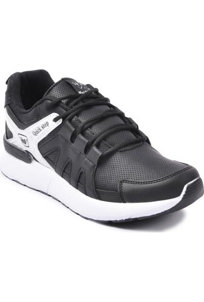 Wanderfull 4022 Siyah - Beyaz Erkek Spor Ayakkabı