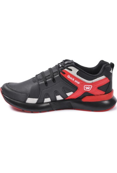 Wanderfull 4022 Siyah - Buz - Kırmızı Erkek Spor Ayakkabı