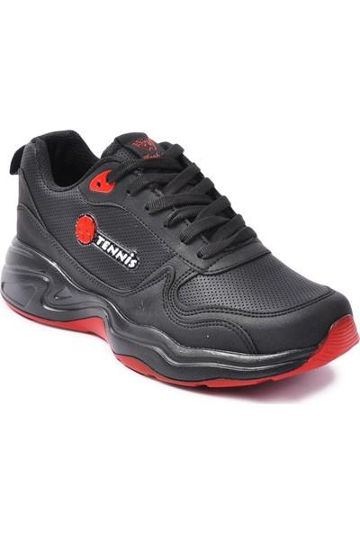Wanderfull 4062 Siyah - Kırmızı Erkek Spor Ayakkabı