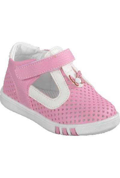 Şiringenç 014 Pembe - Beyaz Bebek Günlük Ayakkabı