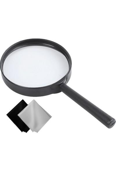 Mastercare 714132 Büyüteç + Microfiber Bez 7.5 cm Çap