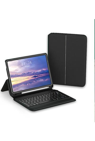 Fujimax Apple iPad Air 3 A2123 A2152 A2153 A2154 Seri Bluetooth Özellikli Klavyeli Kılıf
