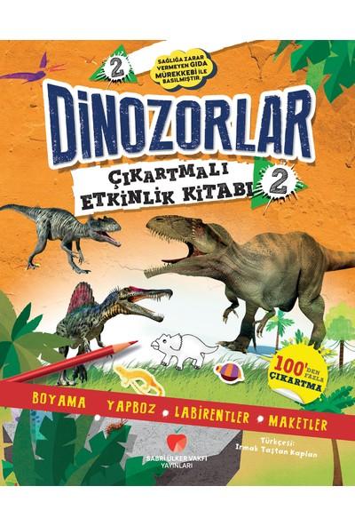 Dinozorlar Çıkartmalı Etkinlik Kitabı 2 - Penny Worms