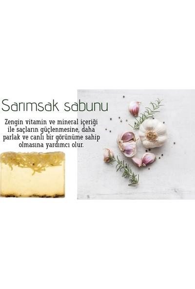 Naturel Sarımsak Sabunu El Yapımı 120 Gram Gliserinli