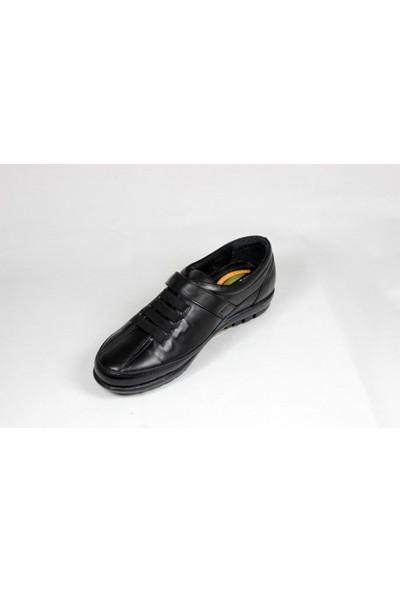 Nostalji Siyah Anne Ayakkabısı