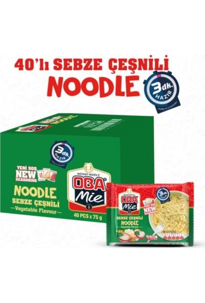 Oba Mie Sebzeli Noodle 40 'lı x 75 gr