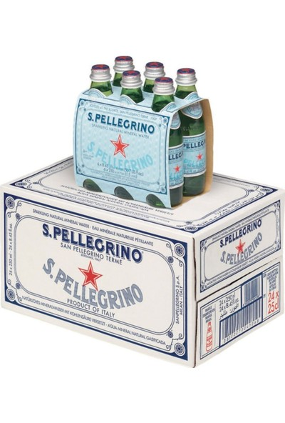 San Pelle Grino San Pellegrino 250 ml - 1 Koli - 24 'lü