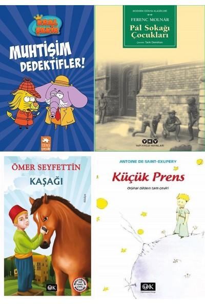 Kral Şakir 9 Muhtişim Dedektifler, Pal Sokağı Çocukları, Küçük Prens ve Kaşağı Kitap Seti