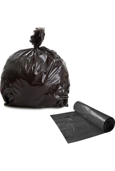 Hoşgör Plastik Çöp Torbası Poşeti Hışır 80 x 110 cm (Koli:20 Rulo)