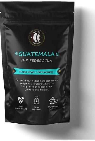 Resso Coffee Guatemala / Shp Fedecocua Çekirdek (Öğütülmemiş) 250 gr