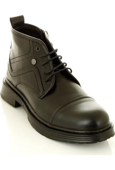 Marine Shoes 76747 Siyah - Erkek - Bot