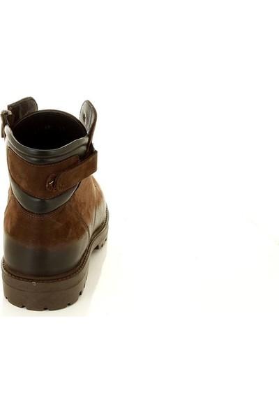 Marine Shoes 72268 Kahve - Erkek - Bot
