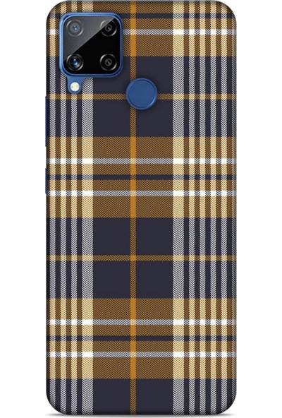 Lopard Gömlek (11) Desenli Silikon Kapak Telefon Kabı Oppo Realme C15 Kılıf