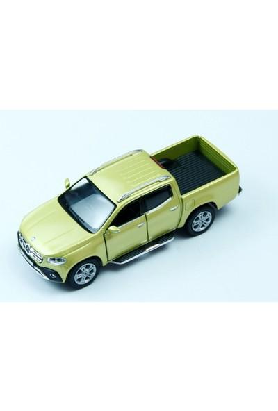 Kinsmart Çekbırak Mercedes-Benz X-Class Sarı