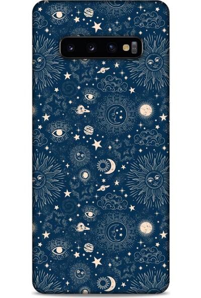 Lopard Spacex (13) Tema Silikon Kap Samsung Galaxy S10 Plus Kılıf