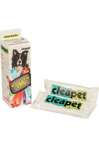 Cleapet Kedi ve Köpekler Için Islak Havlu 30X30 cm