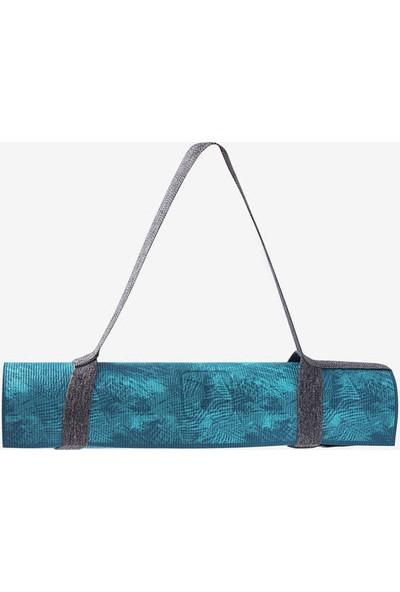 Domyos Yumuşak Yoga Matı - 8 mm - Mavi Domyos