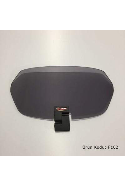 Gp Kompozit Rüzgar Saptırıcı (Deflektör) Füme Universal GP204 - Gri