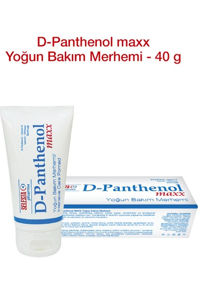 Selesta D-Panthenol%6 Kremi 40 ml