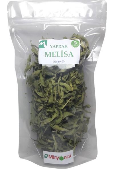 Minyonca Doğal Melisa (Yaprak, Limon Otu, Oğul Otu) 20 gr