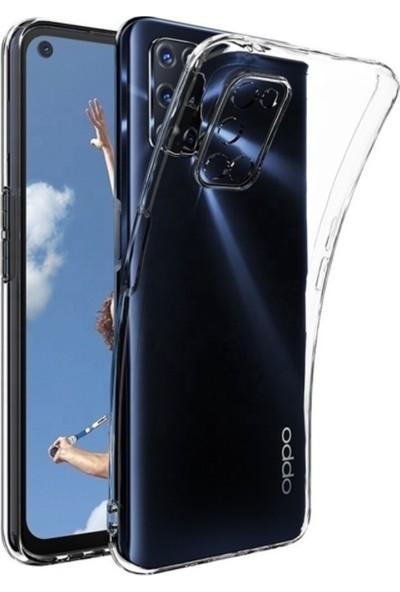 MyCase Oppo A52 -A92- A72 Şeffaf Kamera Korumalı Tıpalı Kılıf