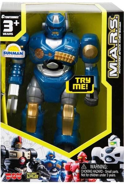 Sunman M.a.r.s. Sesli ve Işıklı Yürüyen Robot 18 cm